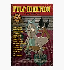 Pulp Ricktion Photographic Print