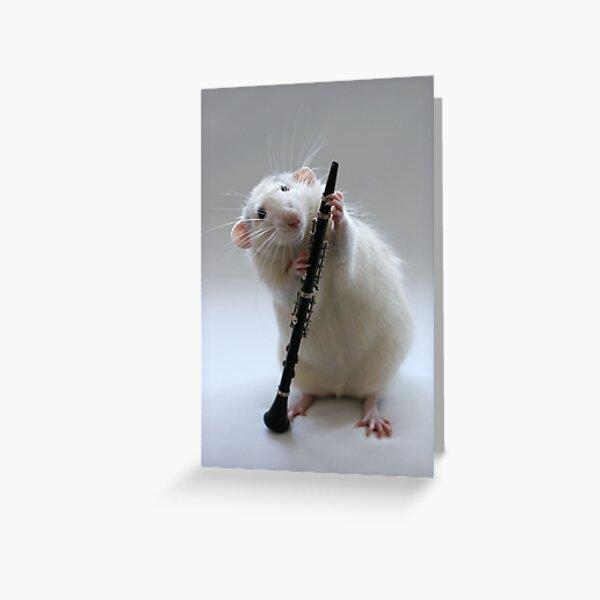 My new Clarinet. Greeting Card