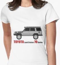TOYOTA Land Cruiser 70 Series HZJ77 (side)(bullbar) (machito) T-Shirt