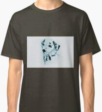 Drawing of dalmatian dog. Illustration Classic T-Shirt