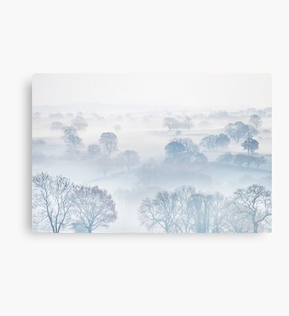 Ethereal Morning Mist Canvas Print