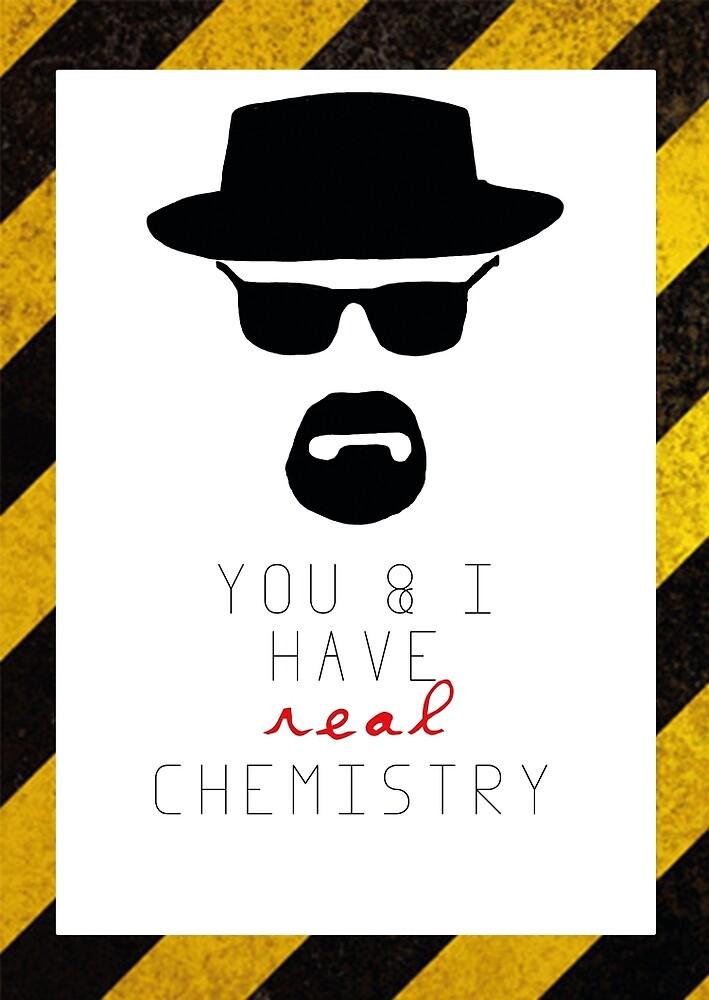 BREAKING BAD HEISENBERG Real Chemistry by raeuberstochter