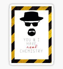 BREAKING BAD HEISENBERG Real Chemistry Sticker
