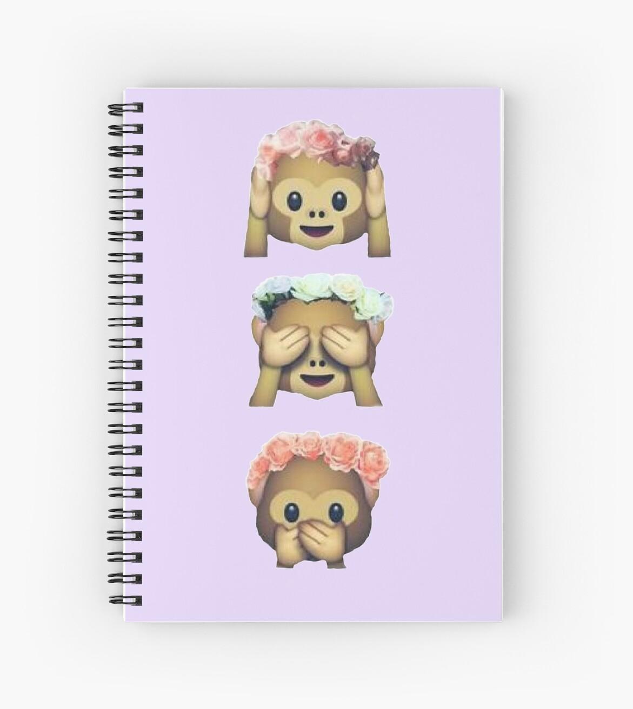 See no evil monkey emoji hipster flower crown tumblr spiral see no evil monkey emoji hipster flower crown tumblr by alyciathefox izmirmasajfo