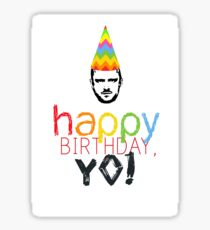 Breaking Bad Birthday Card Sticker