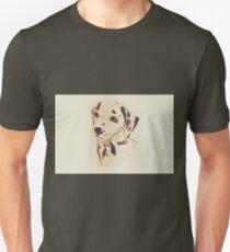 Drawing of dalmatian dog. Illustration Unisex T-Shirt