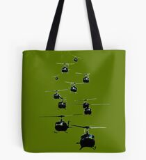 Huey Helicopters Tote Bag