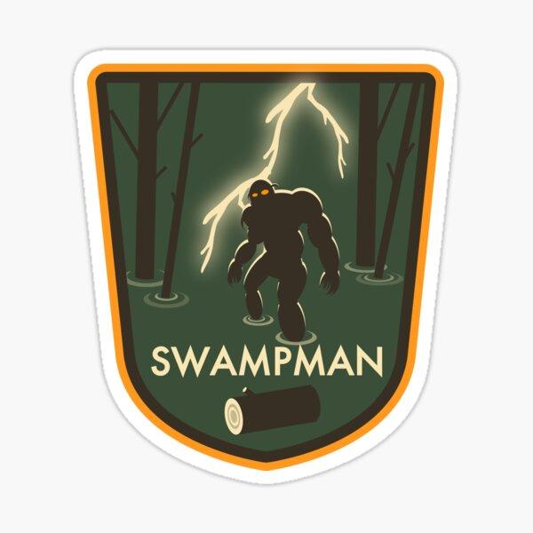 Swampman Sticker
