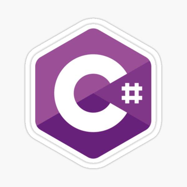 c coding language stickers redbubble