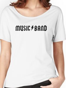 "Music Band – Buscemi, ""how do you do, fellow kids?"" Women's Relaxed Fit T-Shirt"