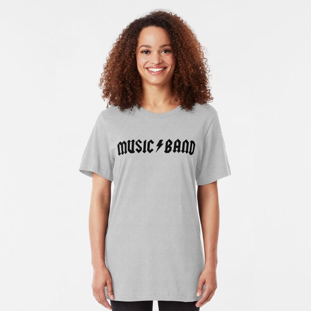 """Musikkapelle - Buscemi, """"wie geht es dir, Mitschüler?"""" Slim Fit T-Shirt"""