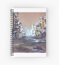 Abandoned city Spiral Notebook