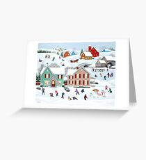 Once Upon a Winter Greeting Card