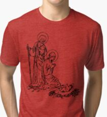 Birth of Jesus Tri-blend T-Shirt