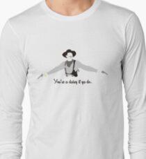 Tombstone: Larger Daisy Long Sleeve T-Shirt