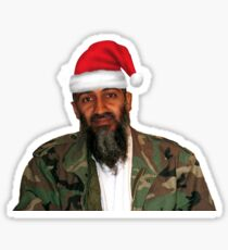 Merry Christmas! - Osama Bin Laden Sticker