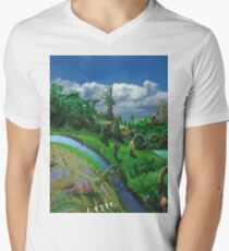 Farm Trip Mens V-Neck T-Shirt