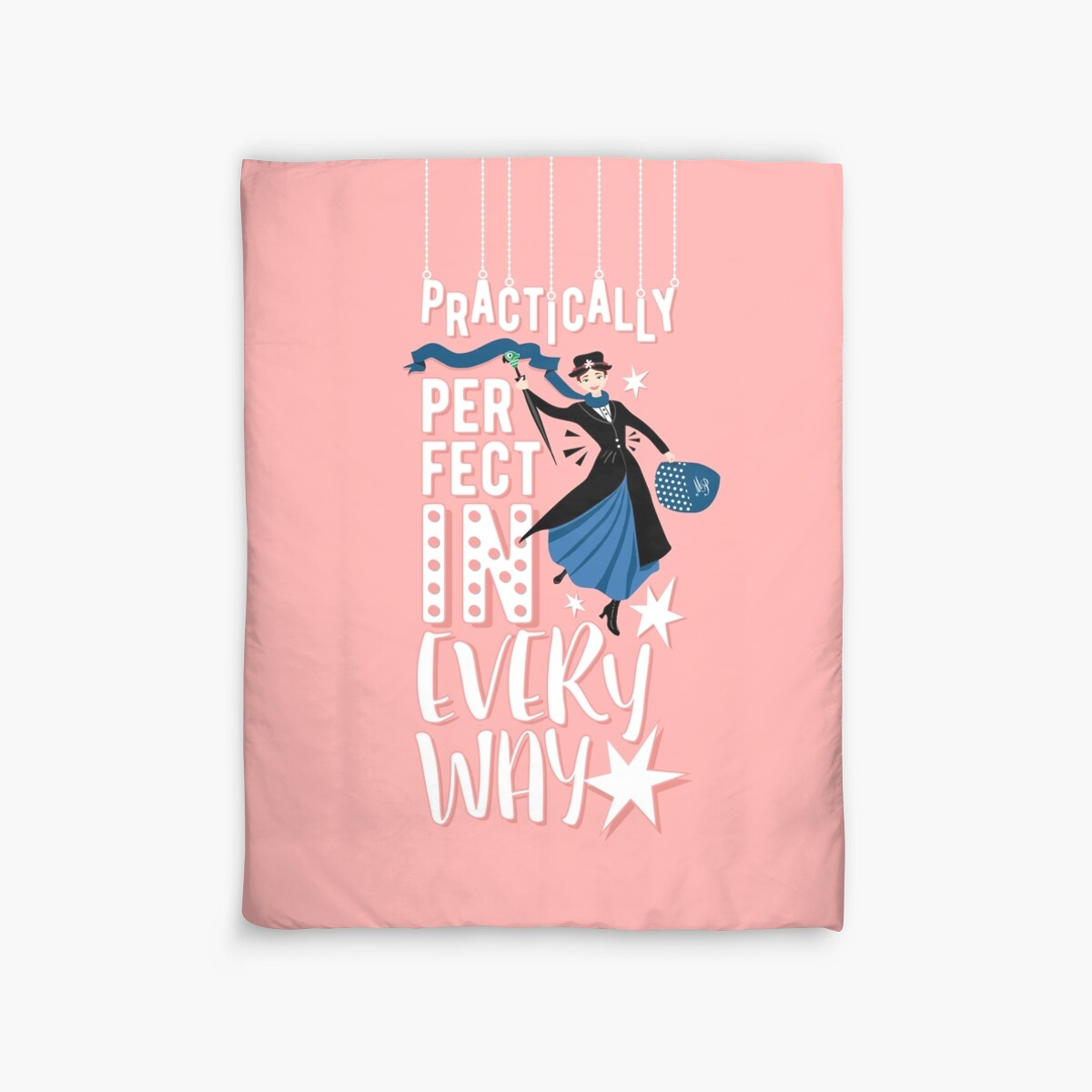Quot Mary Poppins Quot Duvet Covers By Bmstudio Redbubble