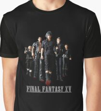 Final Fantasy XV - Black edition Graphic T-Shirt
