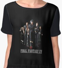 Final Fantasy XV - Black edition Women's Chiffon Top