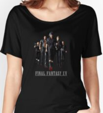 Final Fantasy XV - Black edition Women's Relaxed Fit T-Shirt