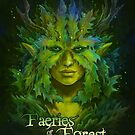 Faeries of the Forest - Green Faerie by Jessica Feinberg