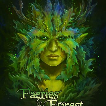 Faeries of the Forest - Green Faerie by JCathryn