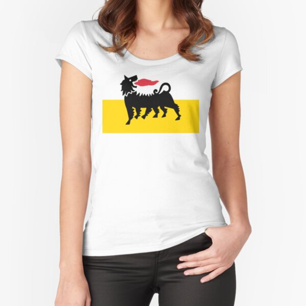 Flag of Eni Fitted Scoop T-Shirt