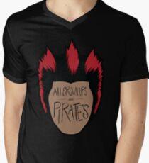 All Grown-Ups  Men's V-Neck T-Shirt