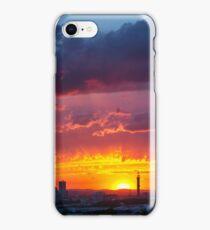 Epic Dramatic Sunset Sky iPhone Case/Skin
