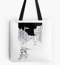 Graphic novel page Tote Bag