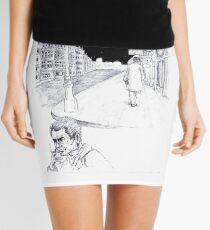 Graphic novel page Mini Skirt