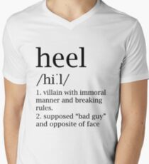 Heel definition Men's V-Neck T-Shirt