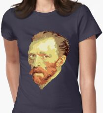 Vincent Van Gogh Women's Fitted T-Shirt
