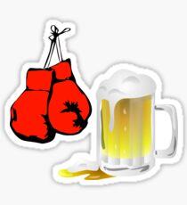Punch Drunk Sticker