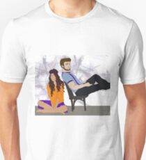 Beatrice and Benedick Unisex T-Shirt