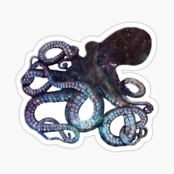 Space Octopus Sticker