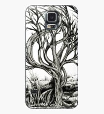 Twisted Tree, Ink Drawing Case/Skin for Samsung Galaxy