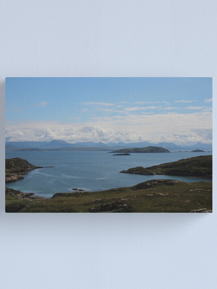Alternate view of Summer Isles Canvas Print