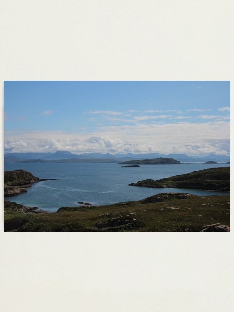 Alternate view of Summer Isles Photographic Print