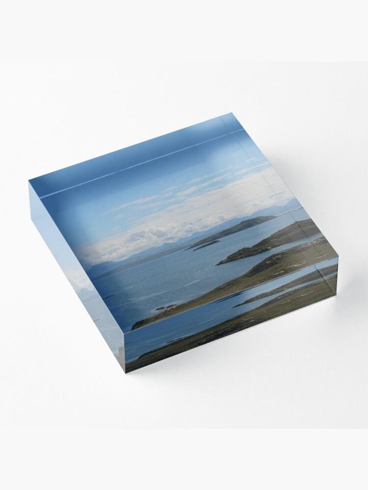 Alternate view of Summer Isles Acrylic Block