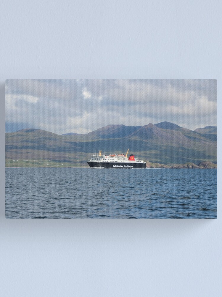 Alternate view of MV Isle of Lewis Canvas Print