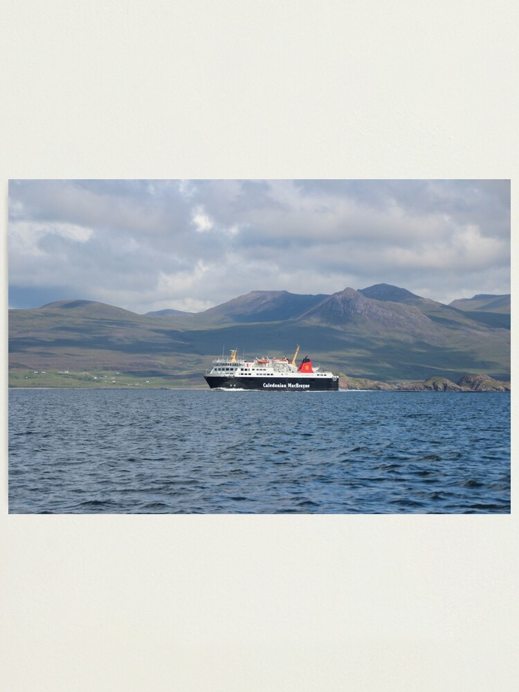 Alternate view of MV Isle of Lewis Photographic Print