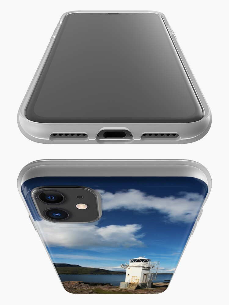 Alternate view of Rhue Lighthouse iPhone Case & Cover