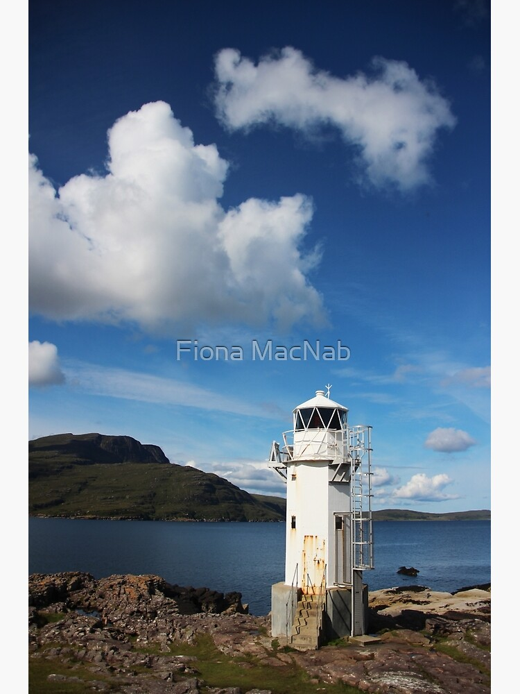 Rhue Lighthouse by orcadia