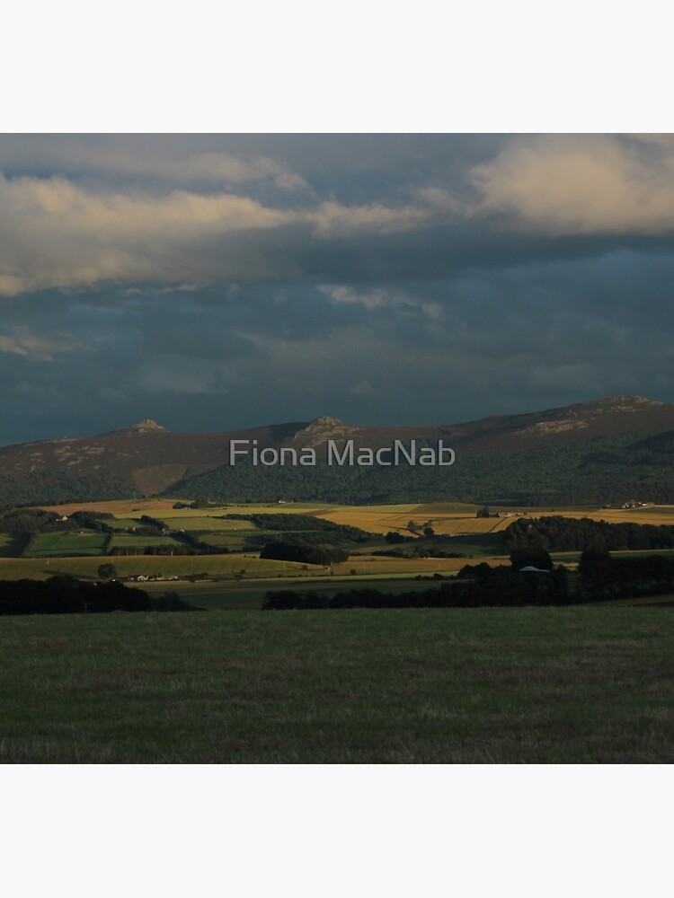 Bennachie view by orcadia