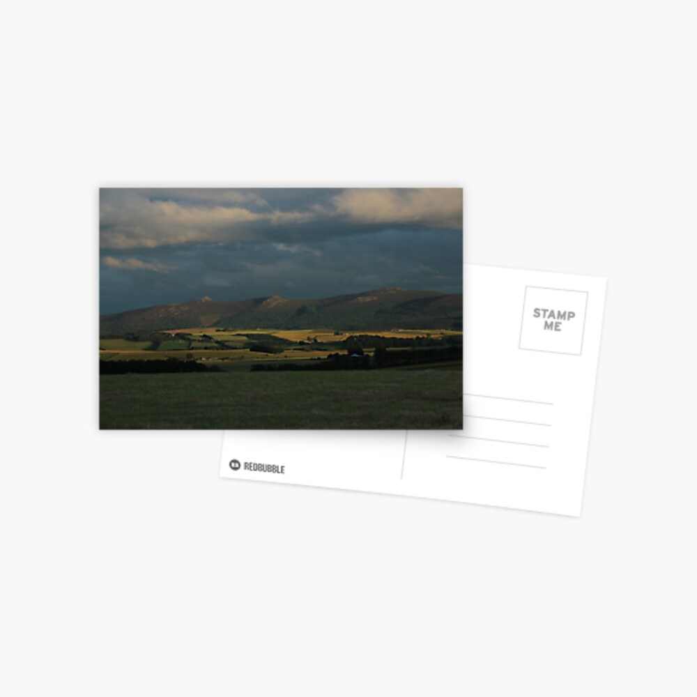 Bennachie view Postcard