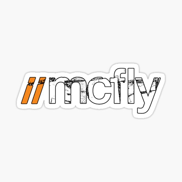 McFly Phone cases  Sticker