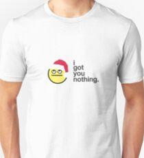 'I Got You Nothing' Christmas Card T-Shirt