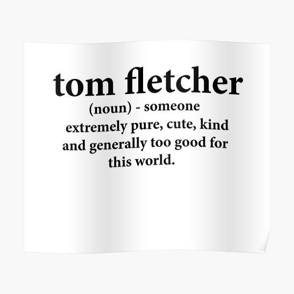 Tom Fletcher Poster